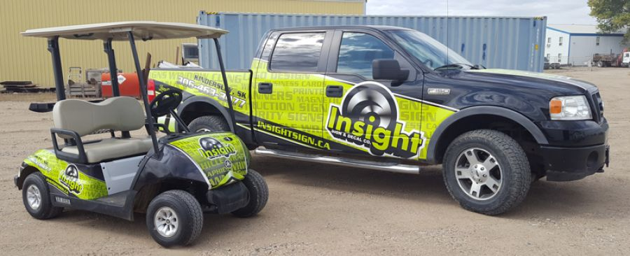 Vehicle Decals & Wraps
